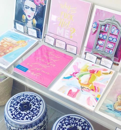 design darling art prints garden stools