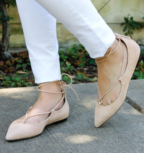 m.gemi brezza lace up flats