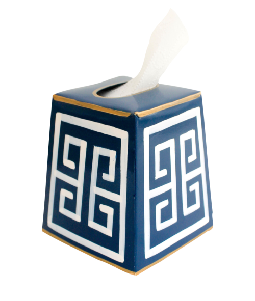 navy_greek_key_tissue_box_cover