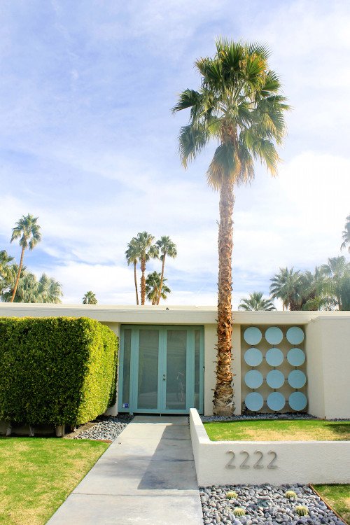 palm springs aqua door