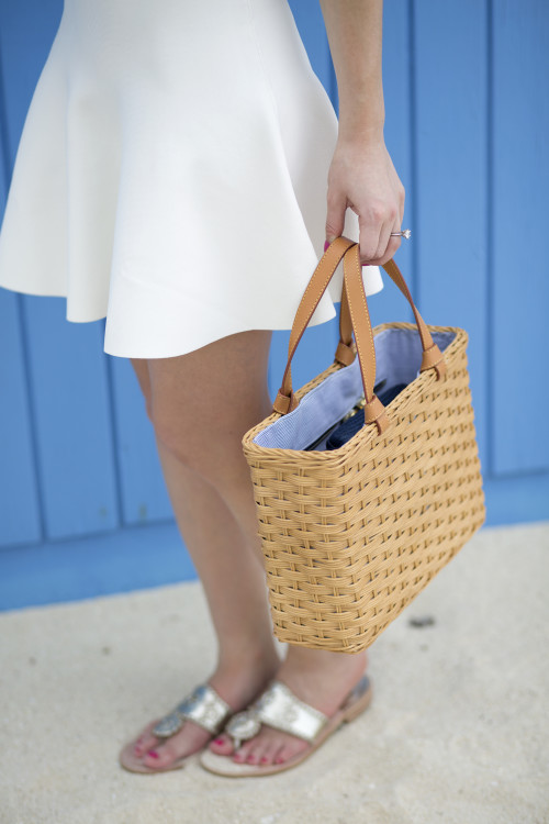j.mclaughlin straw beach tote bag