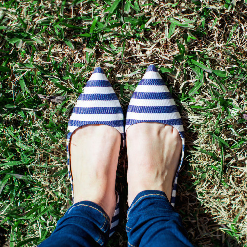 nordstrom shoes of prey striped d'orsay flats
