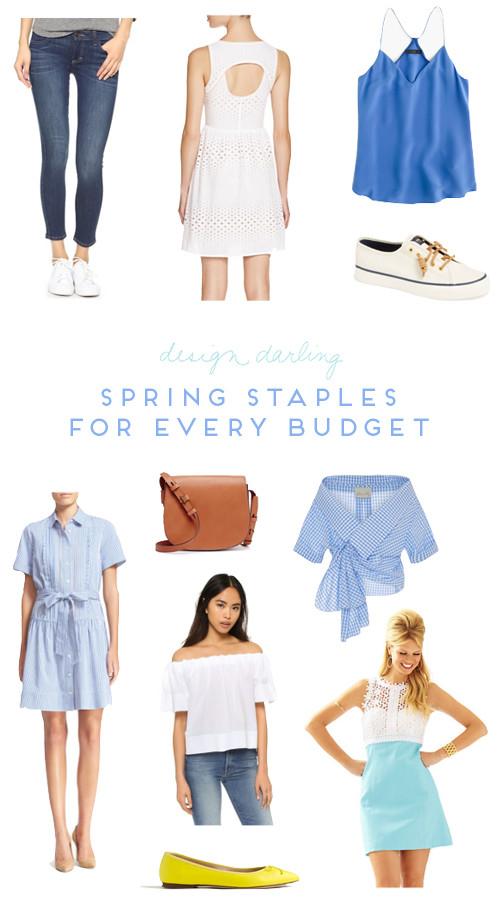 design darling 10 spring staples for every budget