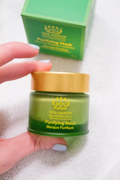 design darling face masks tata harper purifying mask
