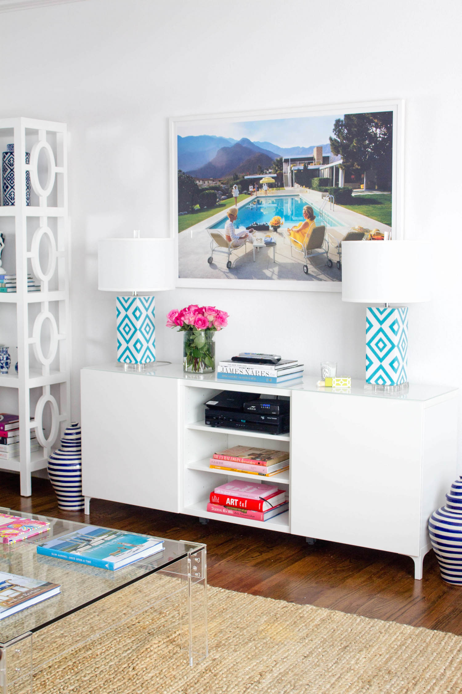 inside our dallas living room with ikea  design darling