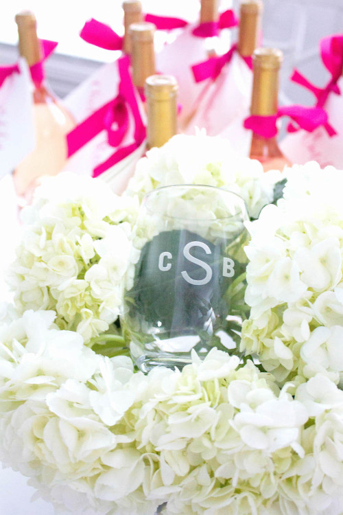 design darling monogrammed wine glasses for bridesmaids