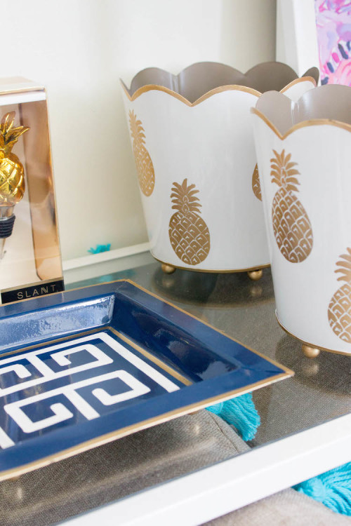 design darling pineapple cachepot