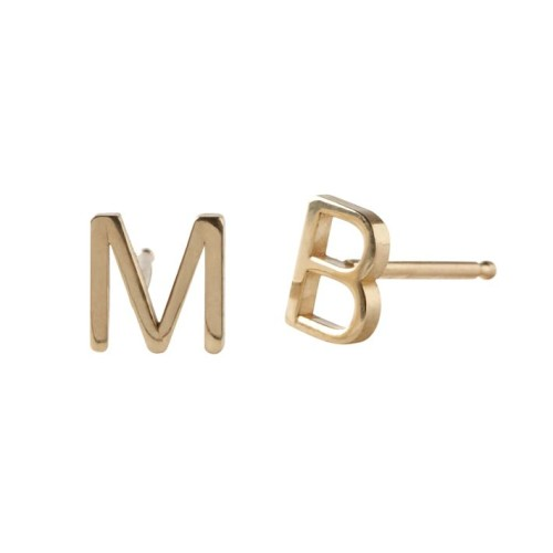 maya-brenner-initial-earring-solid-14k-gold-o