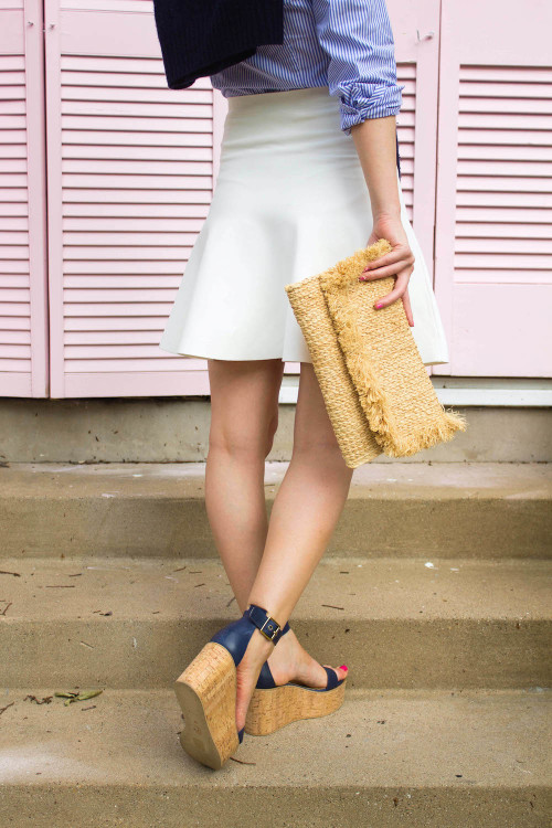 design darling m.gemi cork flatform wedges
