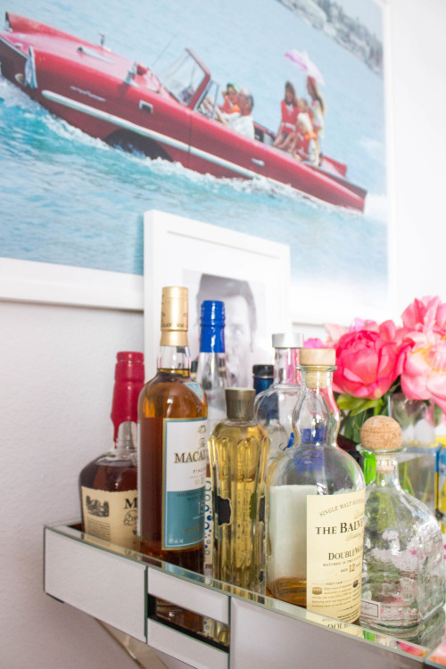 bar cart essentials