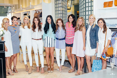 dallas bloggers j.mclaughlin event