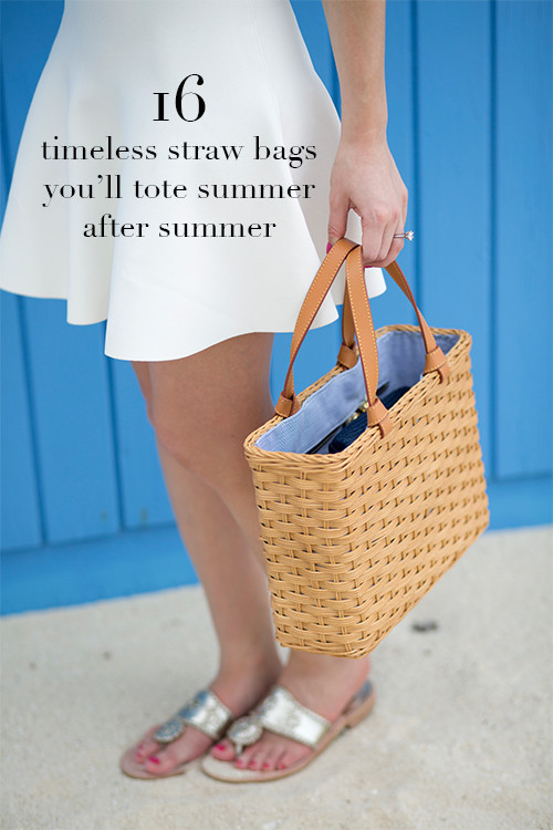 design darling 16 timeless straw bags for summer