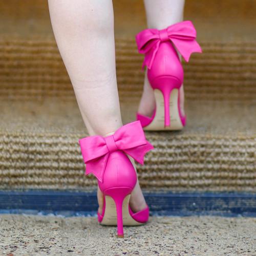 kate spade izzie bow heels