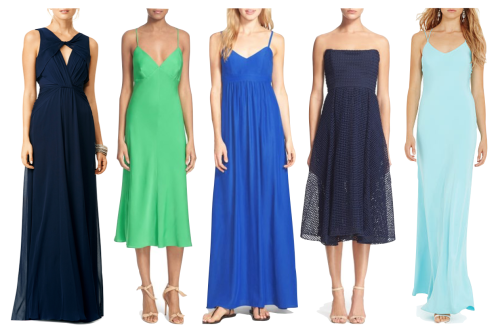 long dresses to wear as a wedding guest