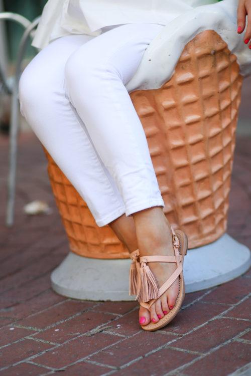 Kate Spade Clorinda sandals on Design Darling