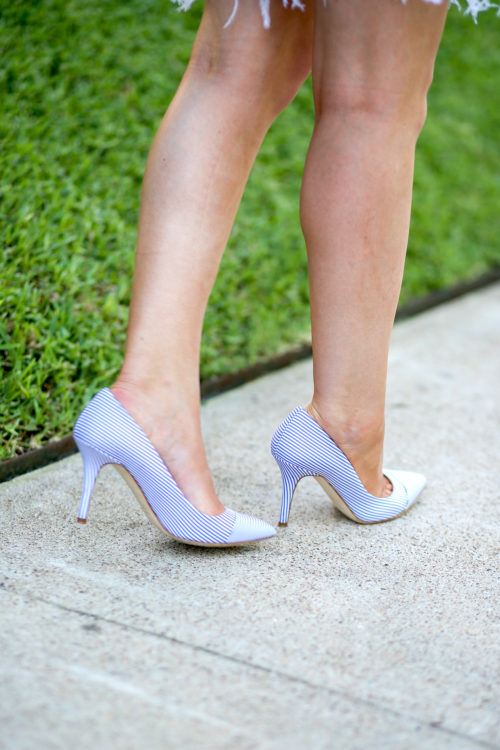 design darling wears club monaco april pumps