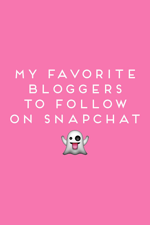 design darling's favorite bloggers to follow on snapchat