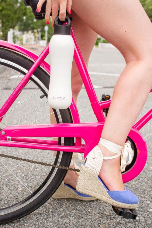 design darling hot pink bike