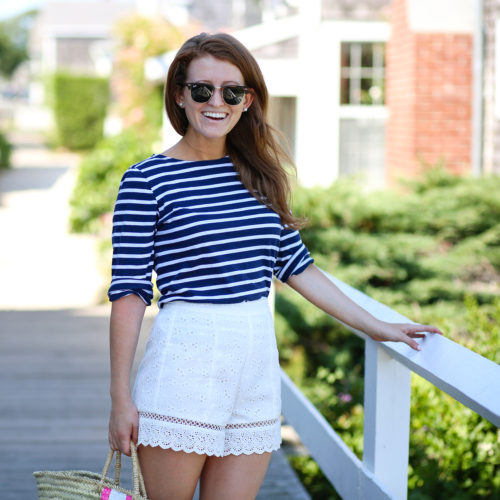 design darling saint james striped shirt