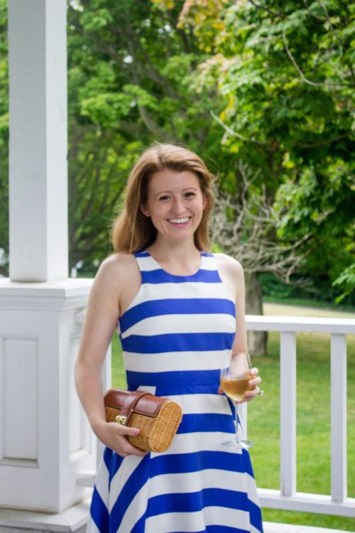 design darling tuckernuck striped dress