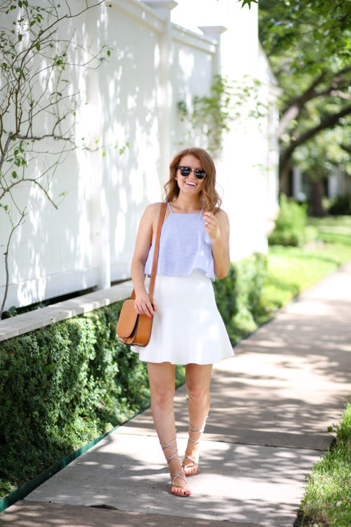 ray-ban clubmasters minkpink top bcbg skirt steve madden sandals