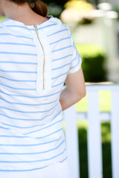 devon baer striped top