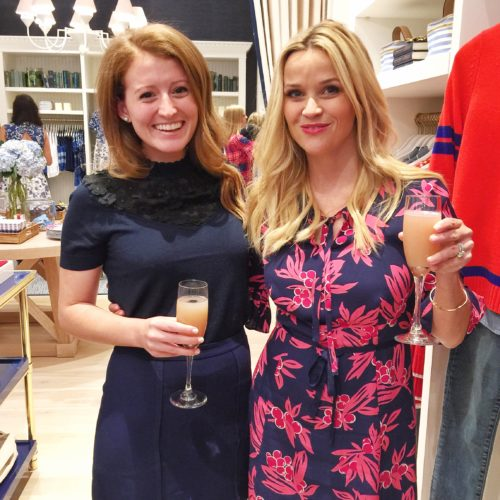 design darling meeting reese witherspoon