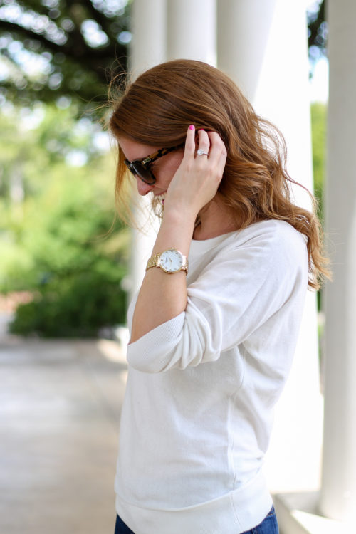 kate spade gold link watch on design darling
