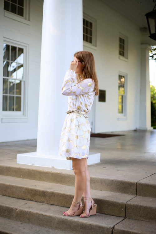 lilly-pulitzer-gold-and-white-floral-dress-on-design-darling