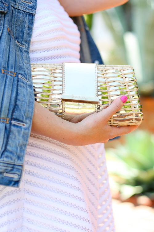 lilly-pulitzer-gold-woven-clutch-on-design-darling