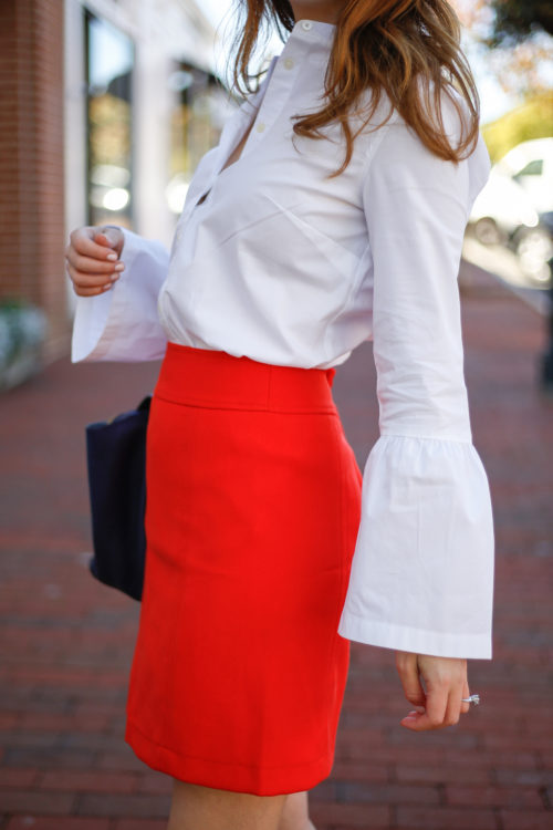 bell-sleeve-top-and-red-skirt-on-design-darling