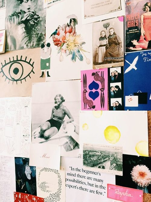 collage inspiration board