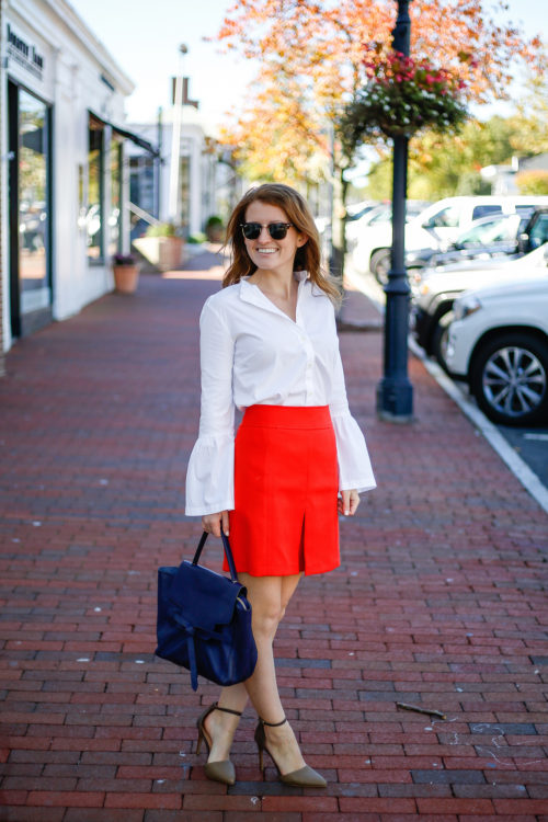 loft-bell-sleeve-shirt-and-front-pleat-skirt-2-2