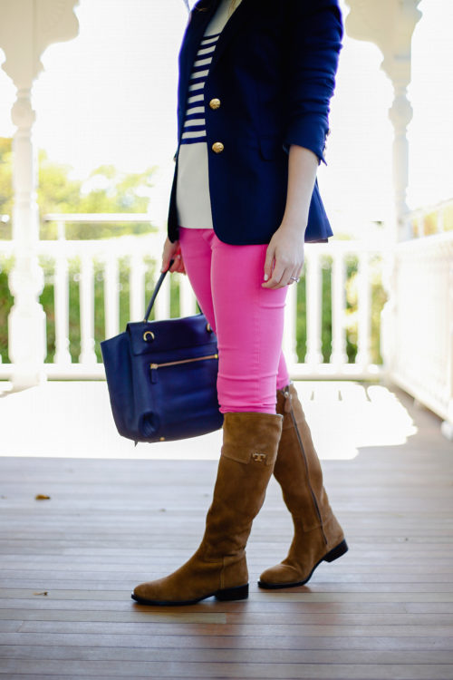 navy-blazer-and-pink-pants-with-riding-boots-on-design-darling