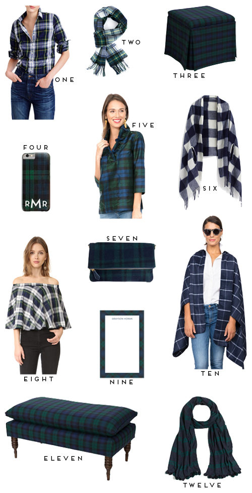 plaid-shirts-scarves-and-accessories-on-design-darling
