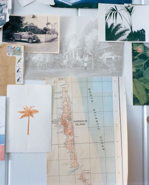 travel inspiration board