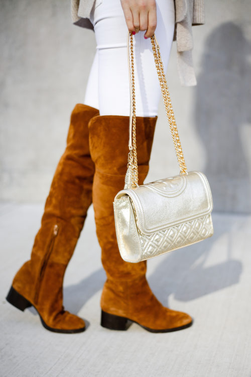 j-crew-over-the-knee-boots-and-tory-burch-gold-fleming-bag