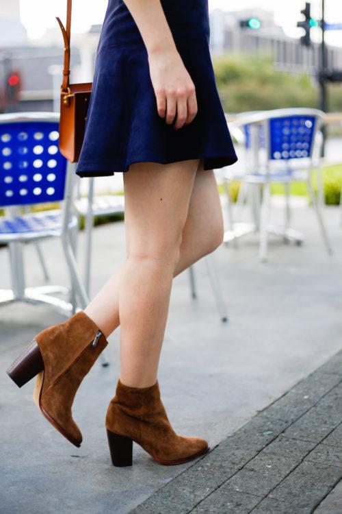 bb-dakota-navy-suede-skirt-and-sam-edelman-suede-booties