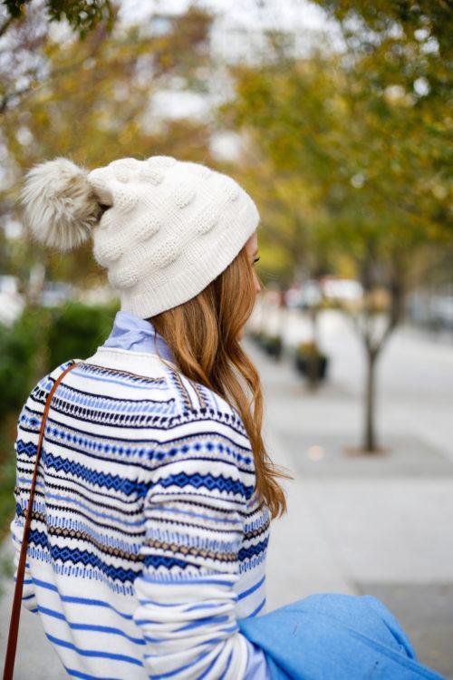 j-crew-fair-isle-sweater-with-faux-fur-pom-pom-beanie