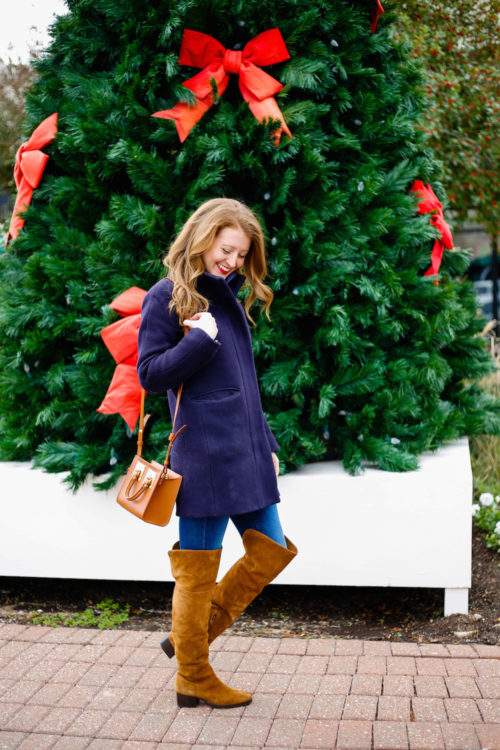 j-crew-navy-cocoon-coat-and-j-crew-over-the-knee-boots