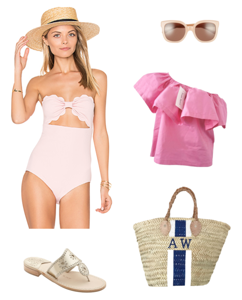 beach outfit for valentine's day