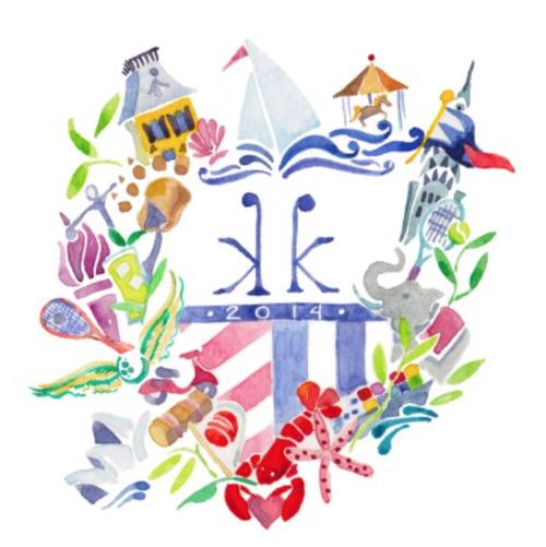 custom wedding crest by kearsley lloyd