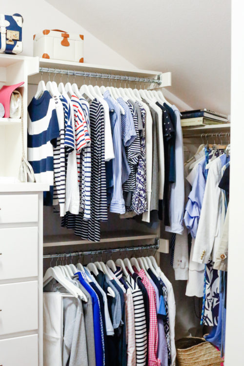 design darling home tour closet