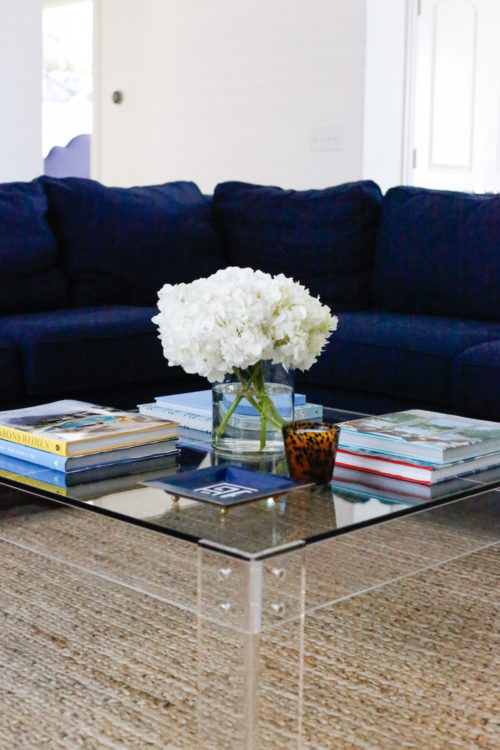 design-darling-home-tour-dallas-wisteria-acrylic-coffee-table