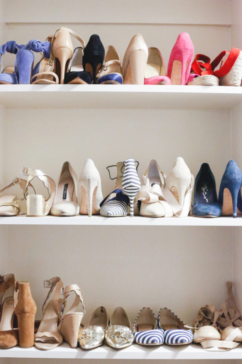 design darling shoe shelves