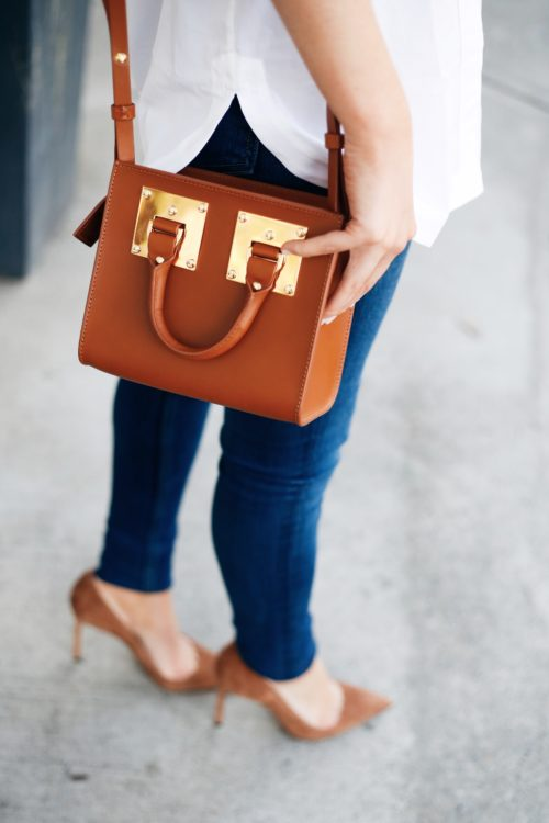 sophie hulme box bag and manolo blank bb pumps on design darling