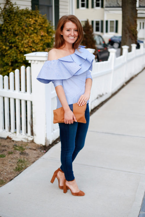 stylekeepers ruffle one shoulder top on design darling
