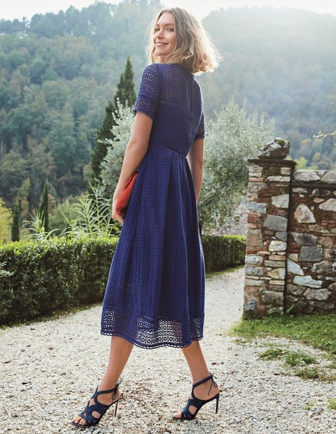 boden navy lace dress
