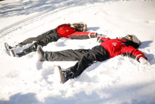 snow angels in finland on design darling