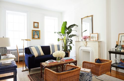 A Preppy Upper East Side Apartment Tour Design Darling